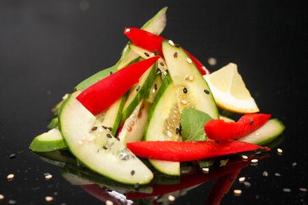 Салат из огурца по-восточному