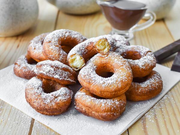 Вкусные пончики ля пон пон