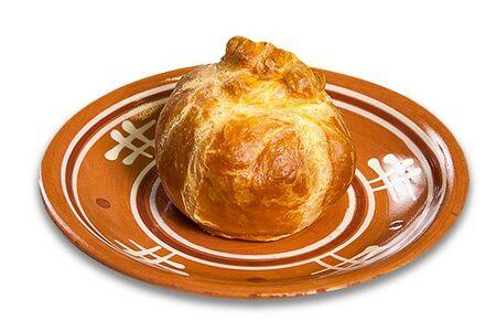 Пирожок печеный с потрошками