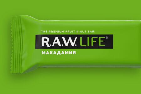 Батончик Raw Life Макадамия