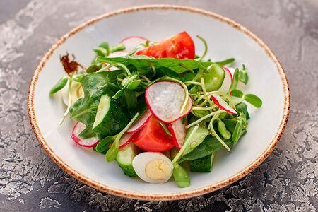 Салат из свежих овощей