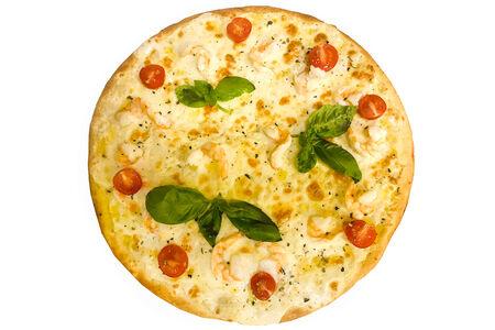 Пицца Тигровые креветки и Черри