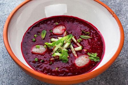 Суп Чриантели холодный из вишни