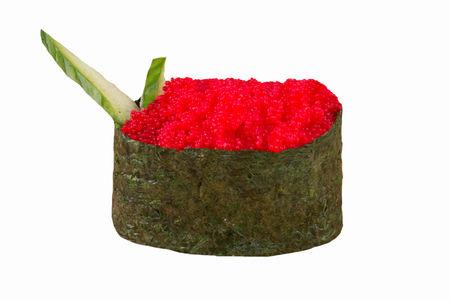Гункан Икра масаго красная