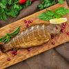 Фото к позиции меню Форель в ореховом соусе