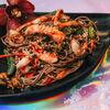 Фото к позиции меню Вок Лапша гречневая с морепродуктами