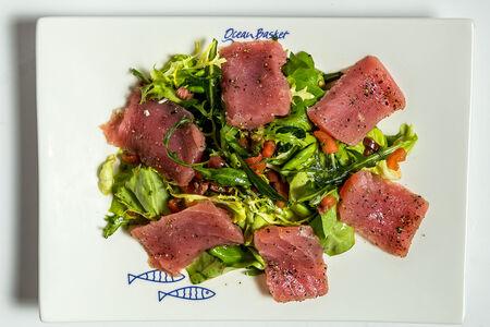 Микс-салат из тунца
