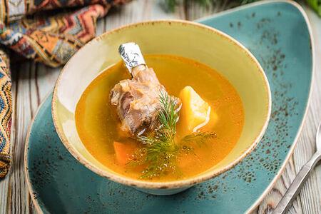 Суп Шурпа с голяшкой