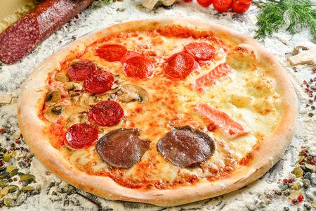 Пицца Кватро партэ