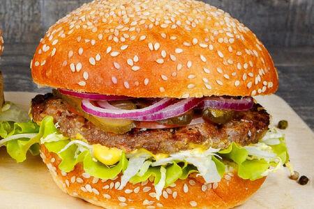 Бургер S с котлетой из говядины
