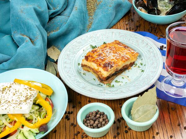 кафе Пассаж греческая кухня