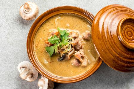 Суп Тайский с лапшой удон