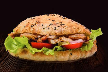 Бургер шаурма