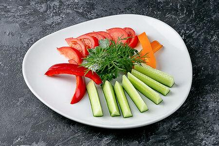 Салат Овощная карусель