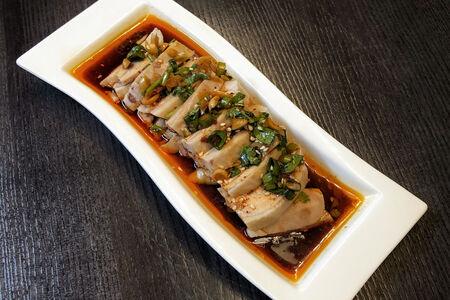 Курица под соусом из сычуаньского перца