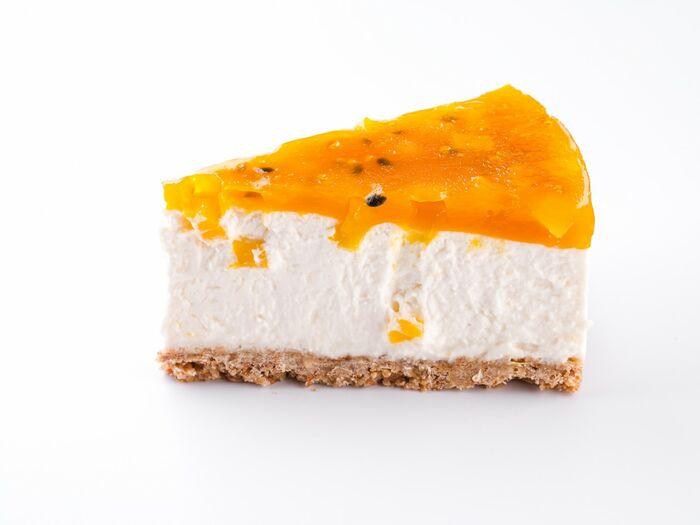 Кусочек торта Йогурт-манго