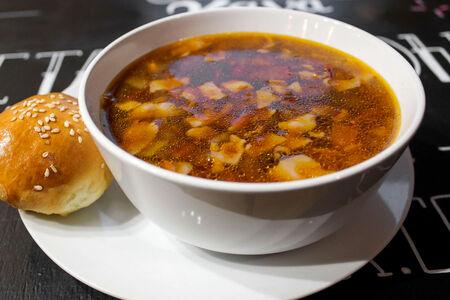 Суп Фасолевый с беконом