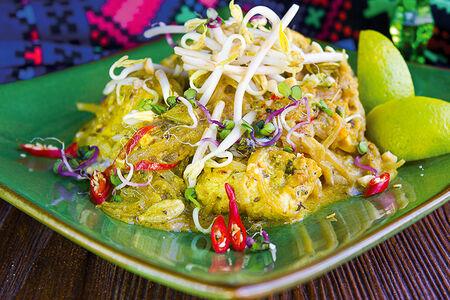 Желтый карри с рисом
