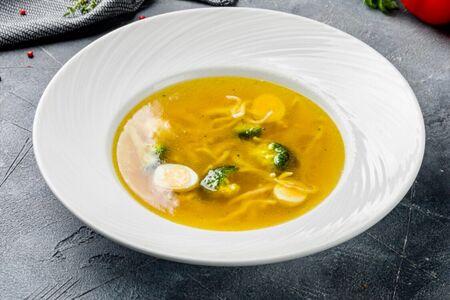 Суп Домашняя куриная лапша