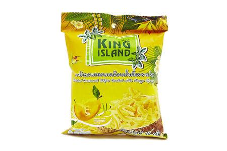 Чипсы кокосовые King Island с манго