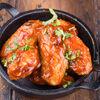 Фото к позиции меню Крылья куриные в соусе барбекю