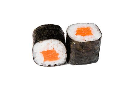 Роллы с лососем