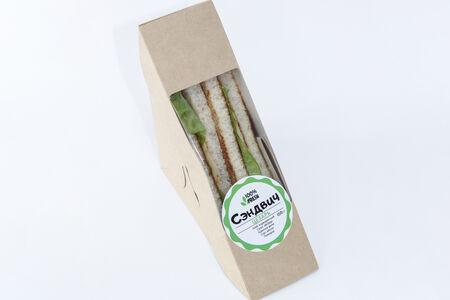 Сэндвич Цезарь с курицей