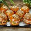 Фото к позиции меню Платтер с чизбургерами
