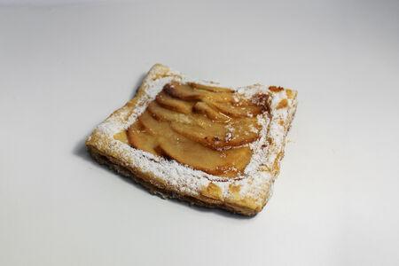 Пирог Довиль яблочный