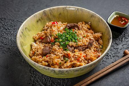 Тайский рис с говядиной