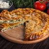 Фото к позиции меню Дагестанский пирог с зеленью и творогом