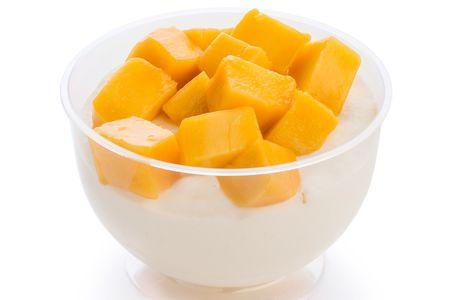 Кокосовый мусс с манго