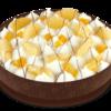 Фото к позиции меню Пирог Сметанный с ананасами