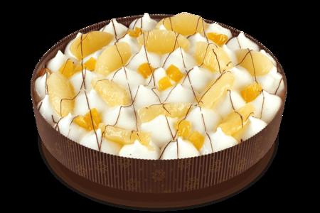 Пирог Сметанный с ананасами