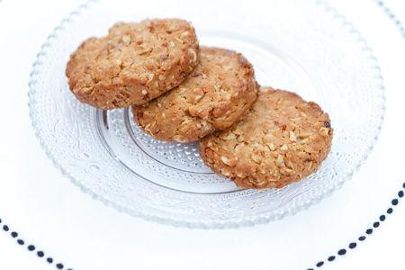 Овсяное печенье с тхиной