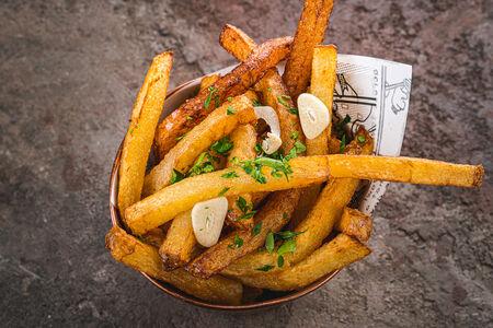 Картофельные чипсы в стиле Фанк