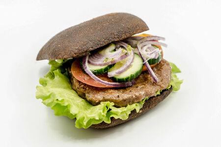 Сэндвич горячий с говядиной