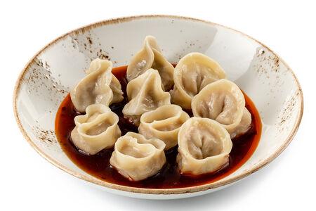Вонтоны ассорти в китайском соусе