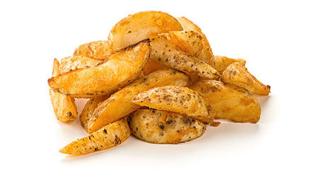 Картофел по-деревенски+соус