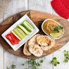 Фото к позиции меню Хумус с багетом
