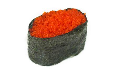 Суши с тобико красной