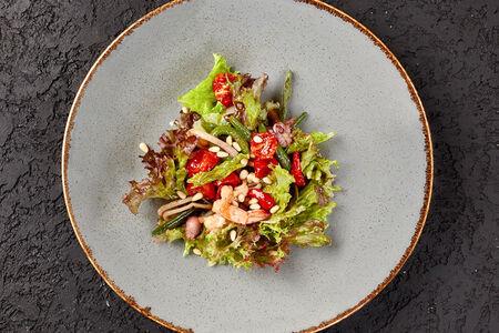 Теплый салат Трапани