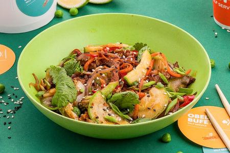 Вок Говядина с овощами