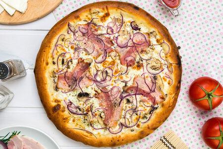 Пицца Сливочная американская