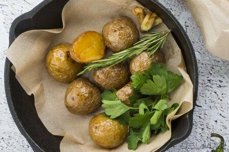 Запеченный бэби картофель