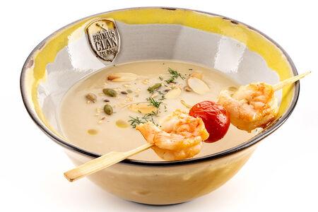 Суп - пюре из цветной печеной капусты