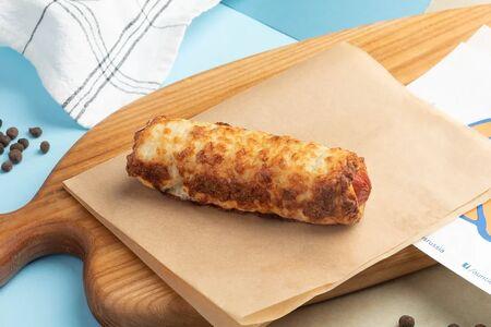 Крендель-дог Биф с сыром