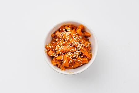 Печеная морковь по-корейски