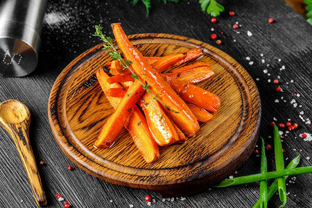 Морковь гриль