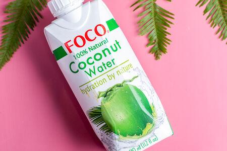 Натуральная кокосовая вода Foco